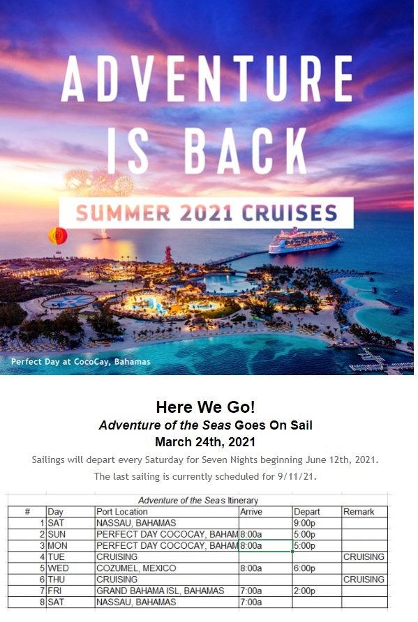 2021 Adventure os the seas from Nassau.j