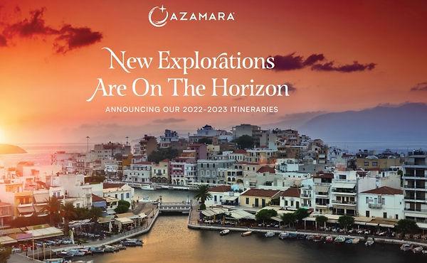 2020 Azamara New Horizons Logo 2022 2023