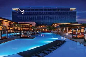 2020 M Resort Las Vegas Bldg from Pool.j