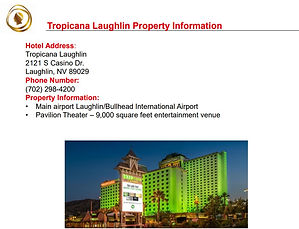 2020 Laughlin Tropicana Property Overvie