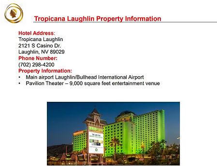 2020 Laughlin Tropicana Property Overvie