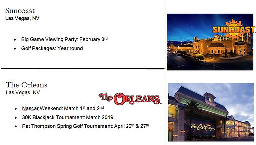2019 Boyd Gaming SunCoast and Oreleans L