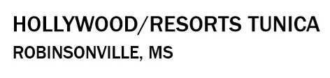 2019 Hollywood Resorts Tunica MS as of D