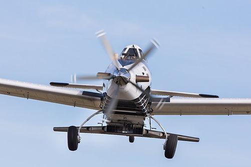 Larvicide aircraft