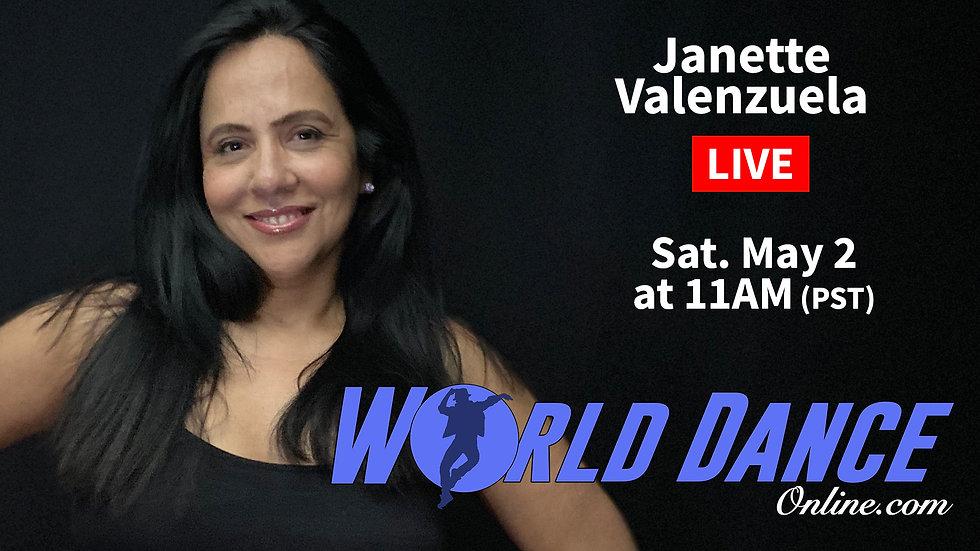 LIVE FB banner janette live class april