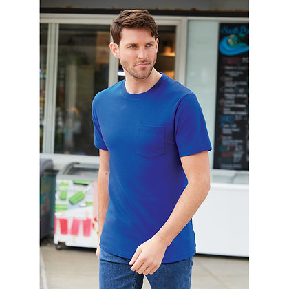 Port & Company® Bouncer Pocket Tee
