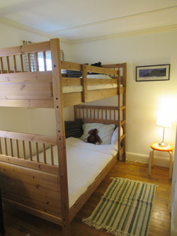 Bunk beds second bedroom