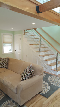 Living Room and Loft Stairs
