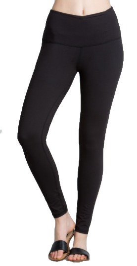 Butter Soft Full Length Leggings (Black)