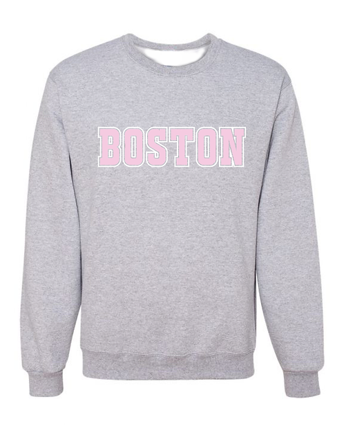 Pink Boston Pullover