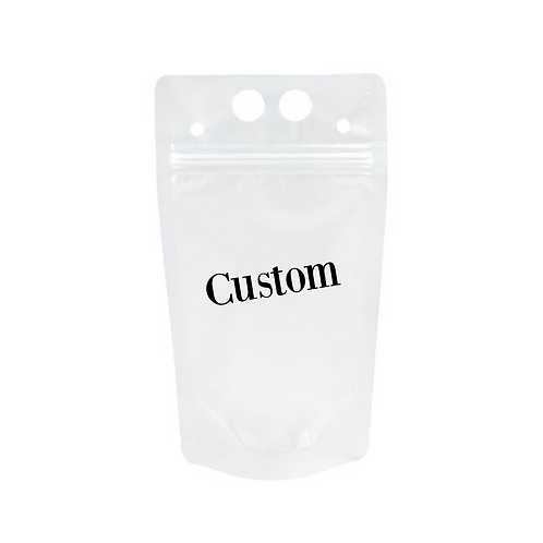 Adult Drink Pouch: Custom