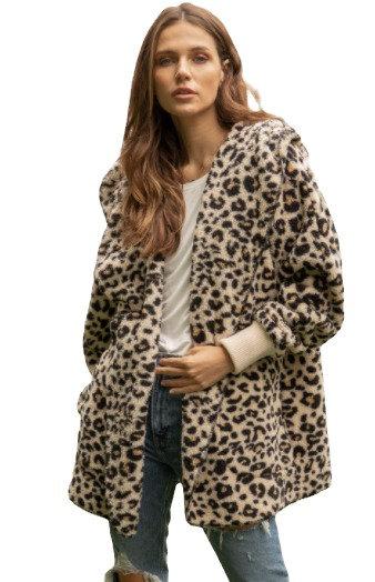 Cozy Vibes Wrap Cheetah