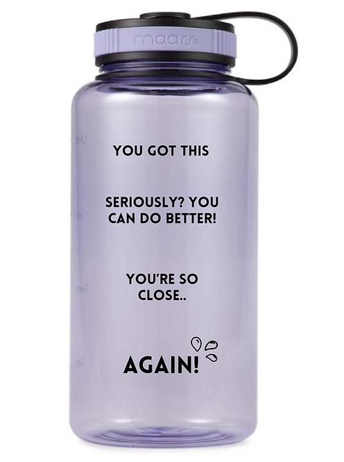 Lavender 34oz Accountability Bottle