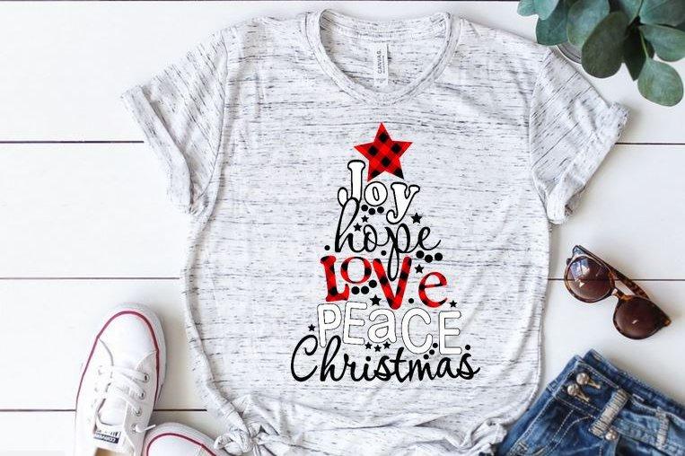 Joy Hope Love Peace Christmas
