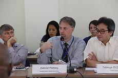 Dr. Gabriel Matney speaking