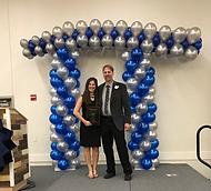 Dr. Gabriel Matney and Alyssa Lustgarten