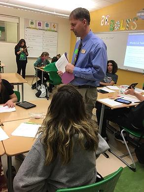 Dr. Gabriel Matney teaching