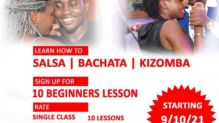 Learn To Salsa, Bachata & Kizomba
