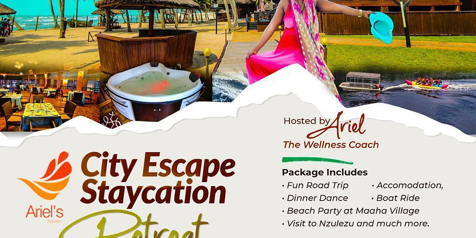 2021 City Escape Staycation  Retreat