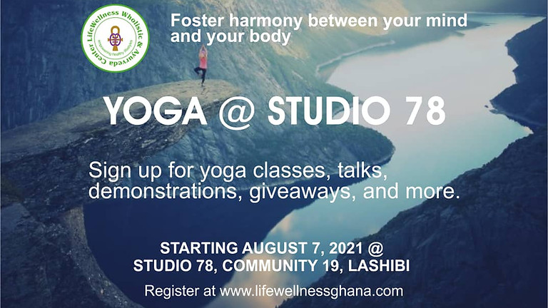 Yoga @ Studio 78