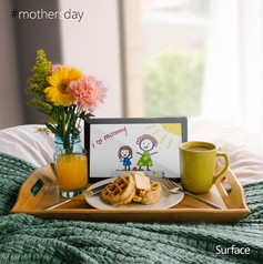 Paste and macaroni not necessary. Happy Mother's Day! #productivitywin #thankyoumom