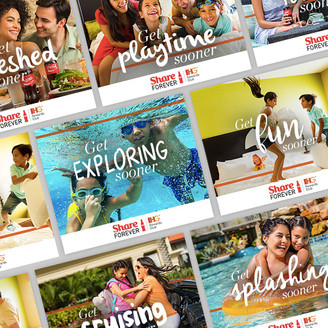 IHG Share Forever Campaign Photography
