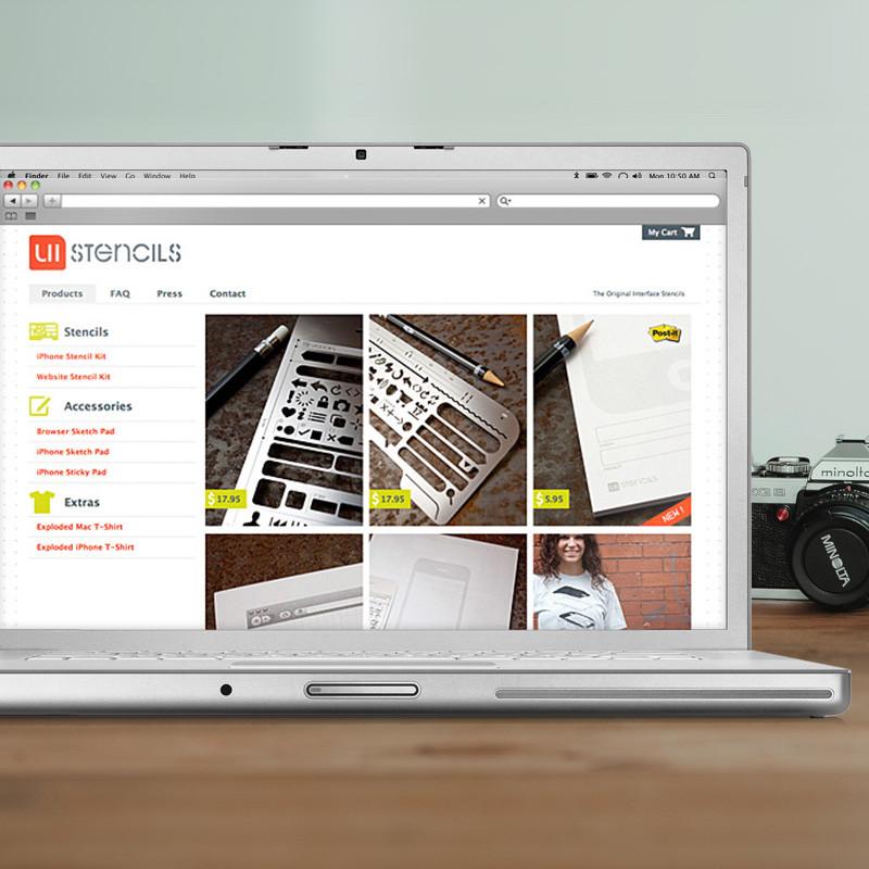 UI Stencils Branding and Website