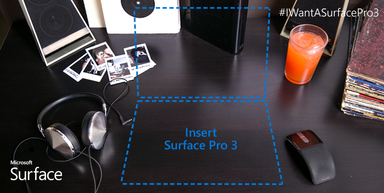 With Dolby sound in your new Surface Pro 3, you might want to give your neighbors a heads up that you'll be rocking. Hard. http://surfac.ms/ixnE5V
