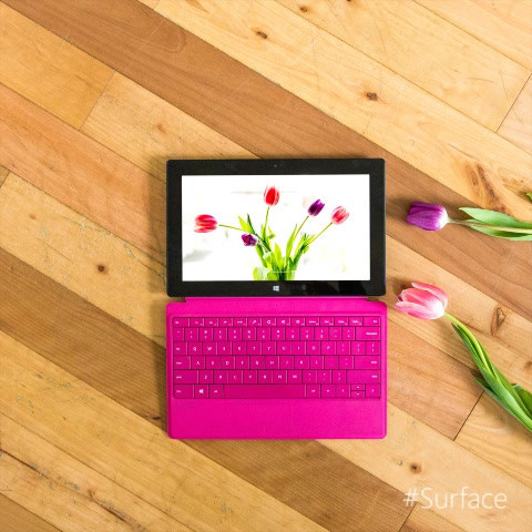 Flowers are beginning to bloom! Happy May Day from#Surface