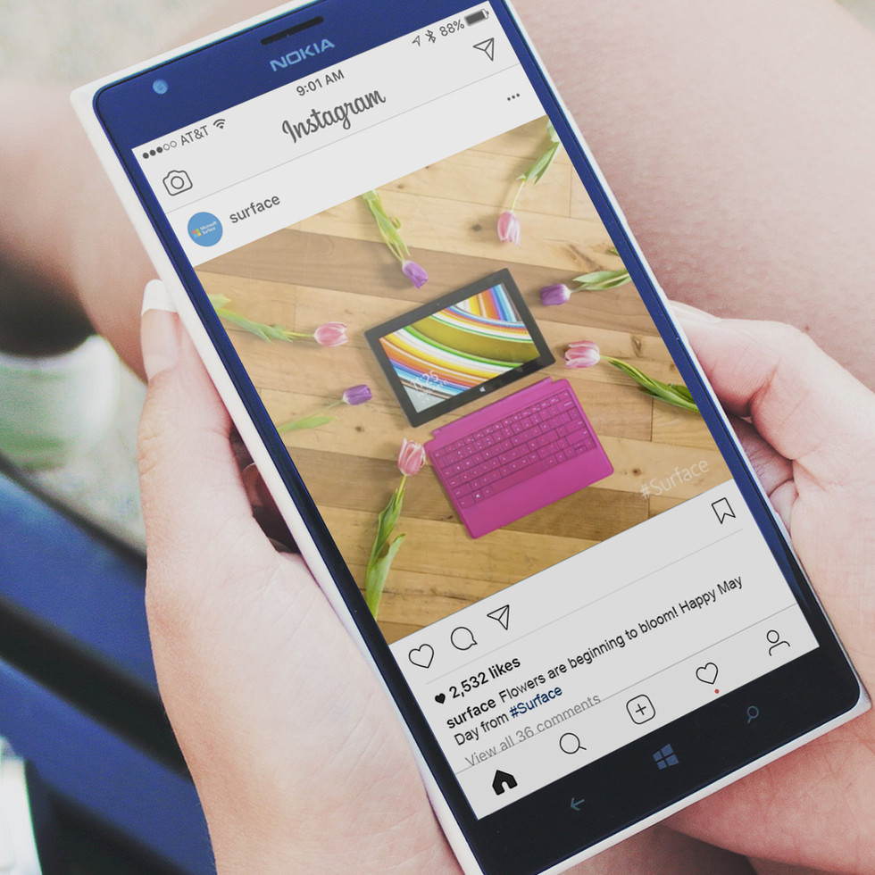 Surface Social Creative