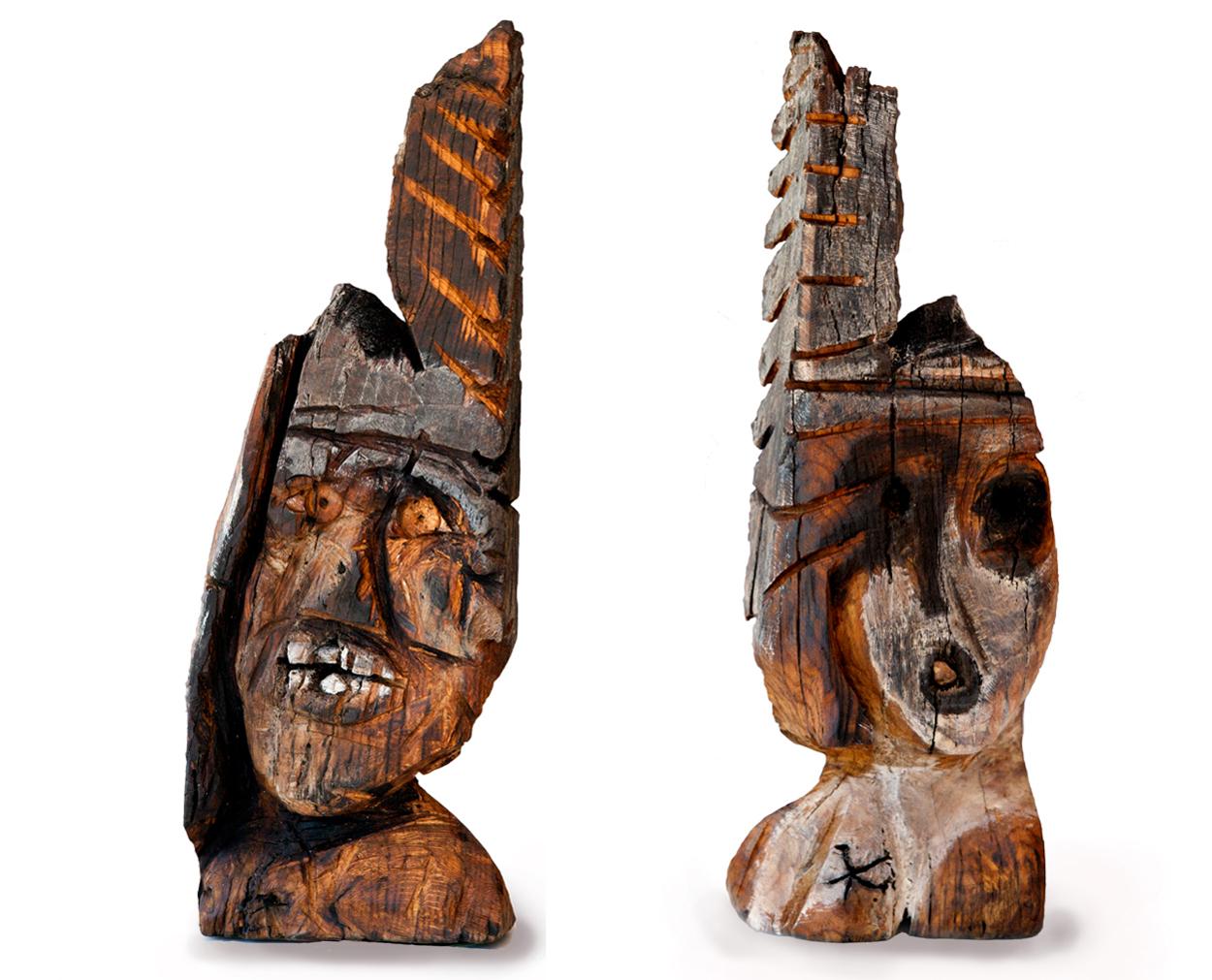 Tête III, 67x22x14 cm