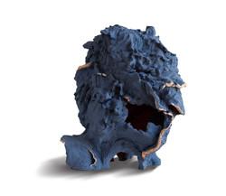 Tête face, 69x40x50 cm