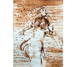 Terra on paper 2, 50x70 cm