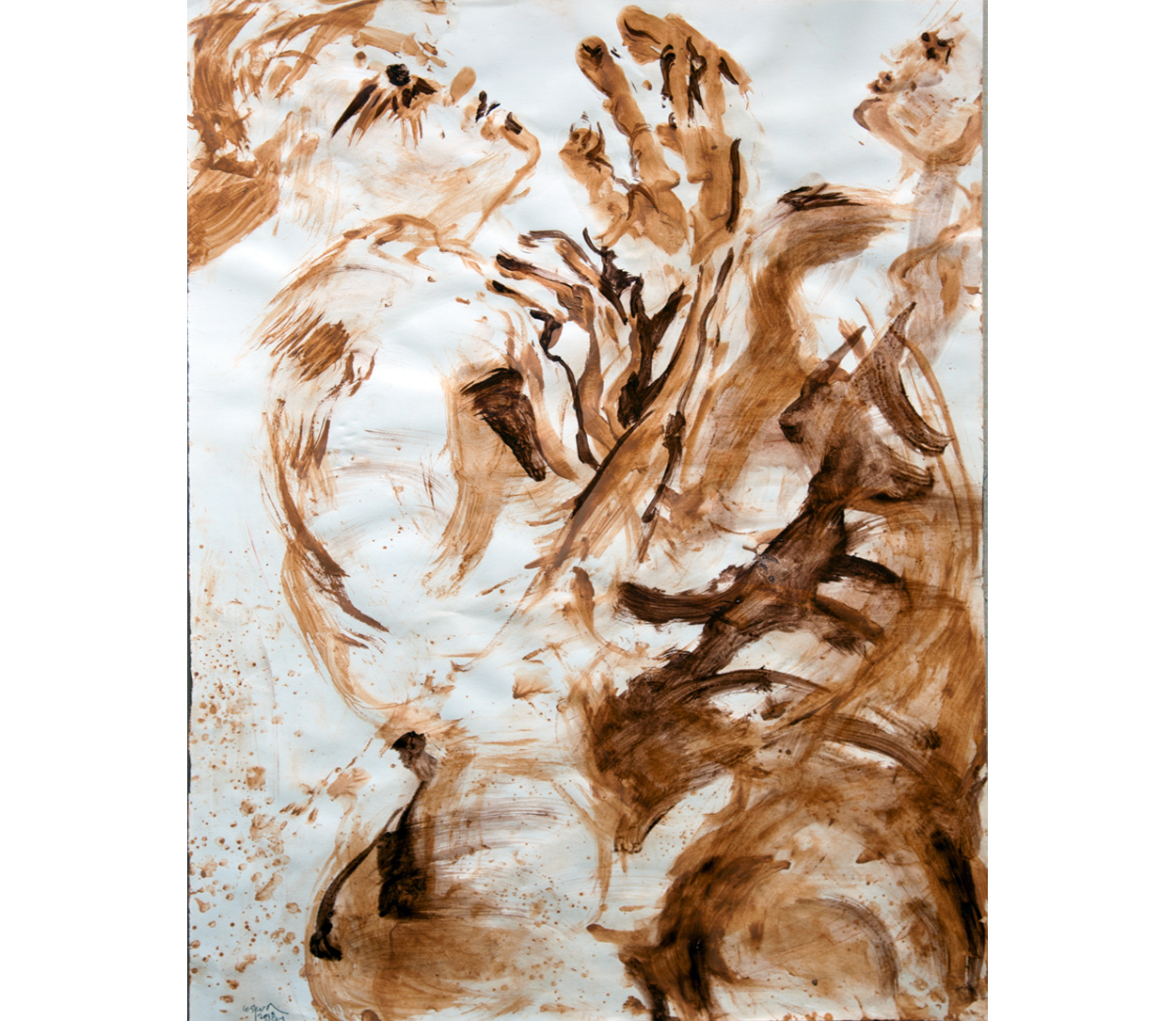 Terra on paper 3, 50x70 cm