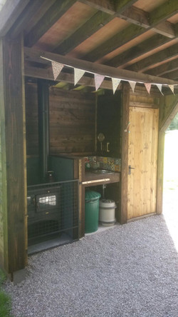 Cabin - Woodfired Oven