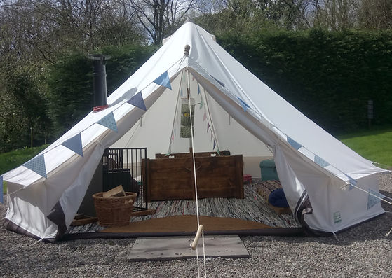 Camp Cynrig Bell Tent