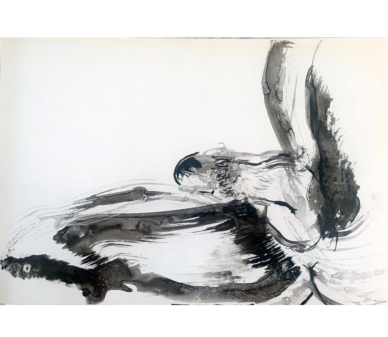 Caché, encre de Chine/p.5, 29x45,5cm