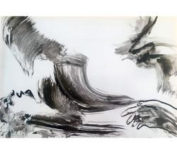 Caché, encre de Chine/p.4, 29x45,5cm