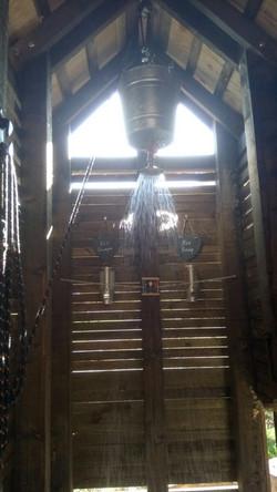 Cabin - Bucket Shower