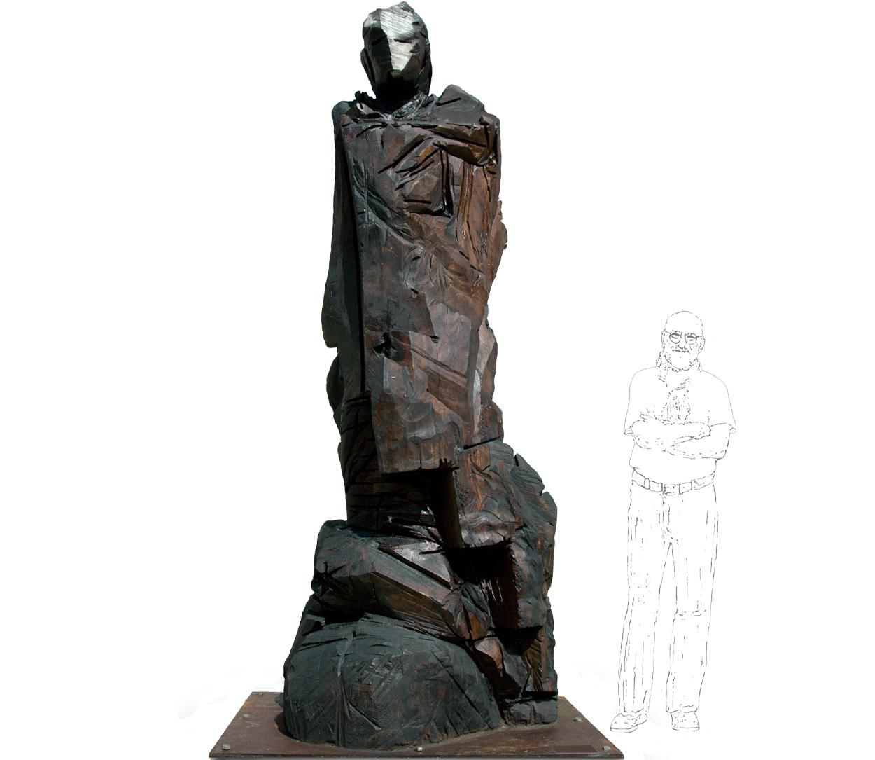 L'Homme, 250x110x110 cm