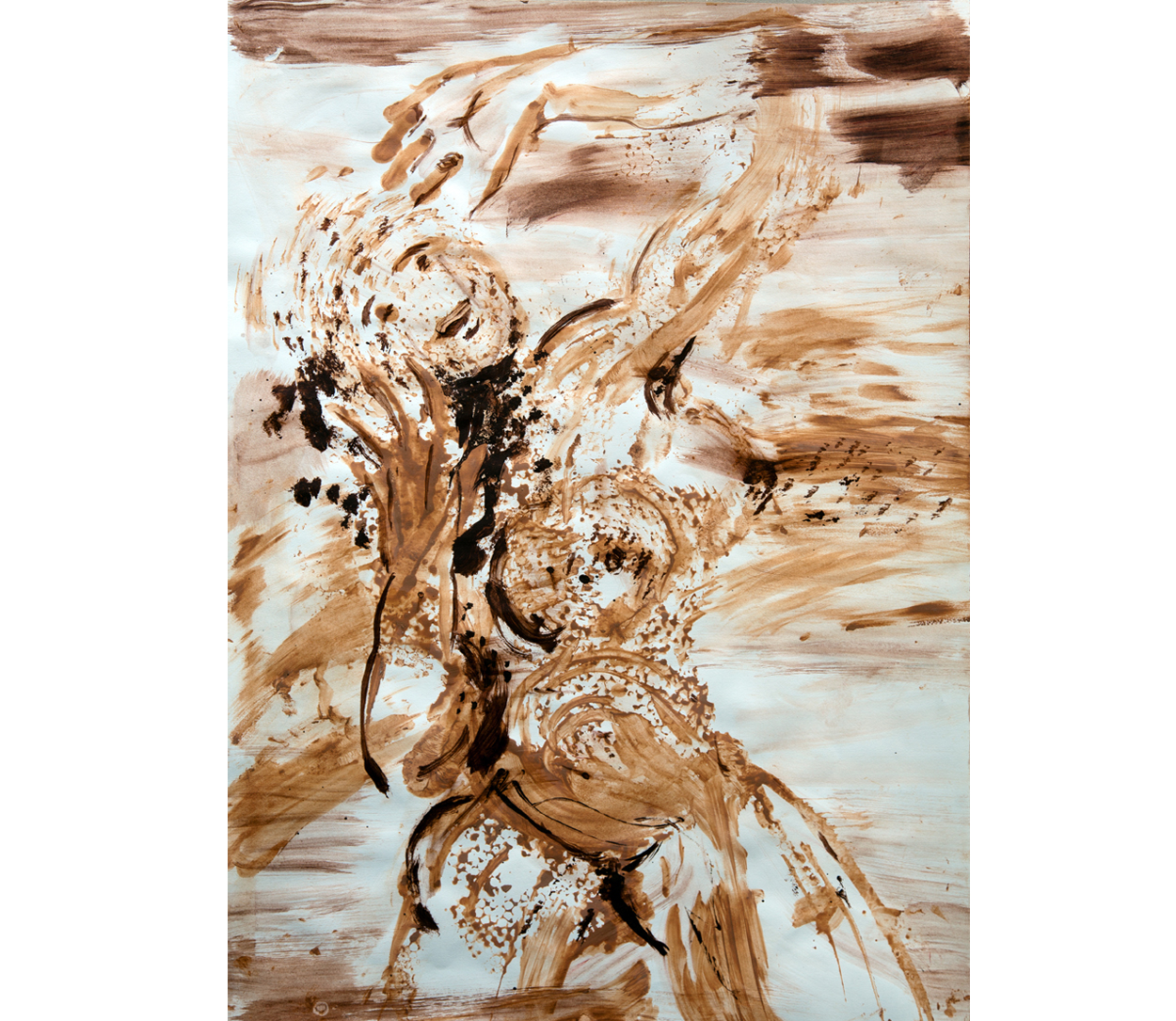 Terra on paper 6, 50x70 cm
