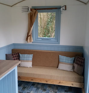 Camp Cynrig Shepherds Hut