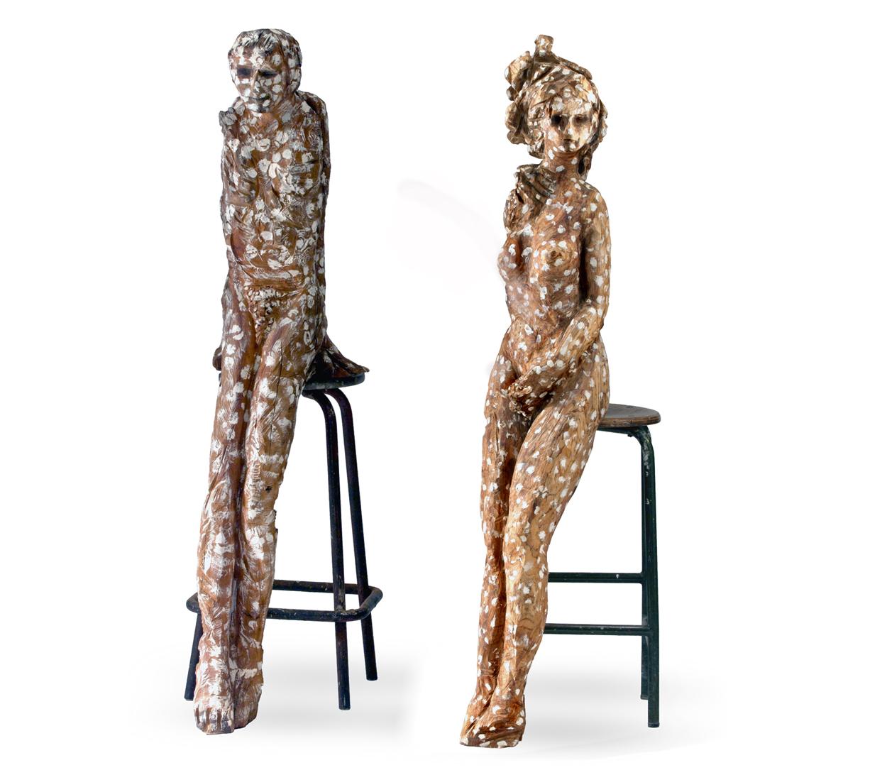 Grappe I et II, 160x70x38 cm