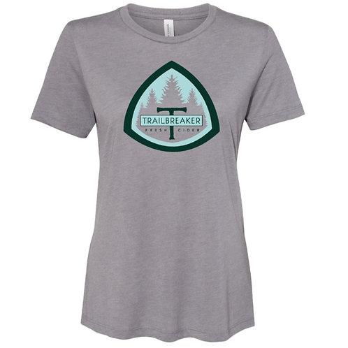 Women's Relaxed Tee - Gray