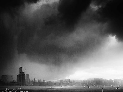 The Storm - Hong Kong Harbour