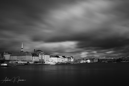 Stormclouds over Stockholm