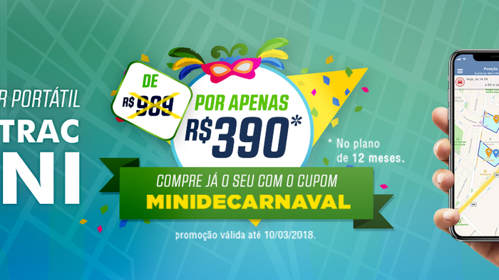 Campanha promocional Mini de Carnaval