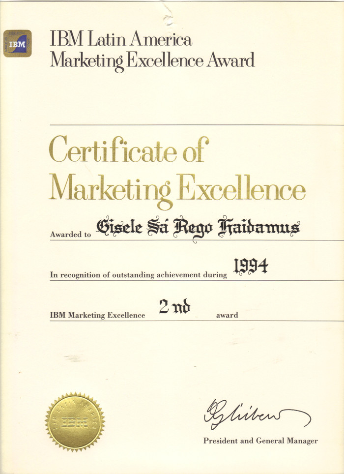 2rd Marketing Excellence Award