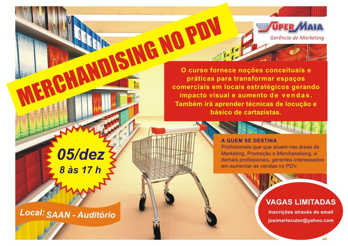 Conception and implementation of merchandising management training