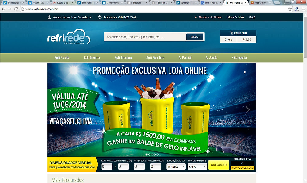 e-commerce Refrirede
